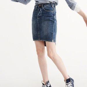 [One Teaspoon] Dark Wash 2020 Denim Pencil Skirt